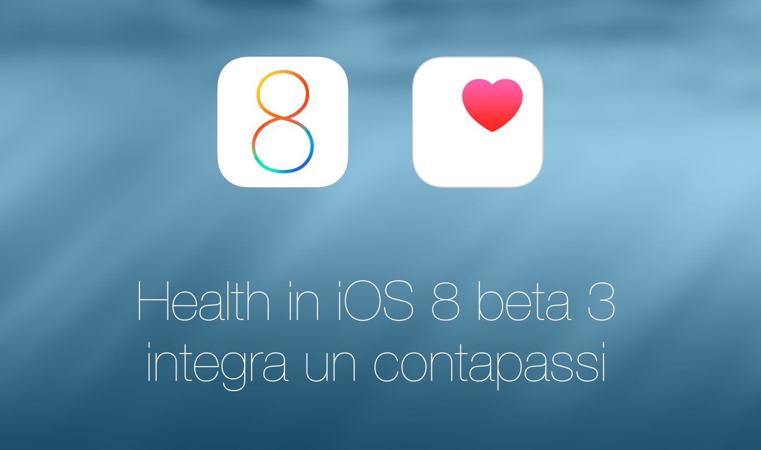 iOS 8 Health contapassi